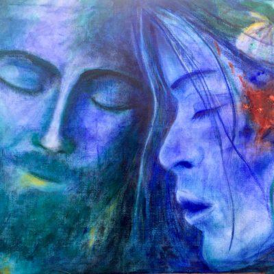 Peinture de l âme  Je te sens je te sais