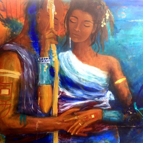 peinture de l âme L'Eveil Mariage